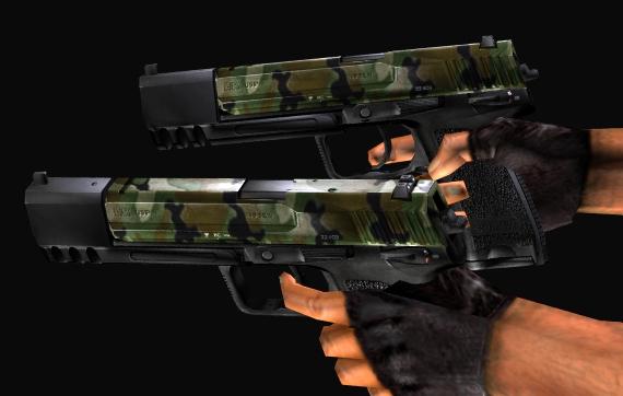 Оружие прикреплеш также в